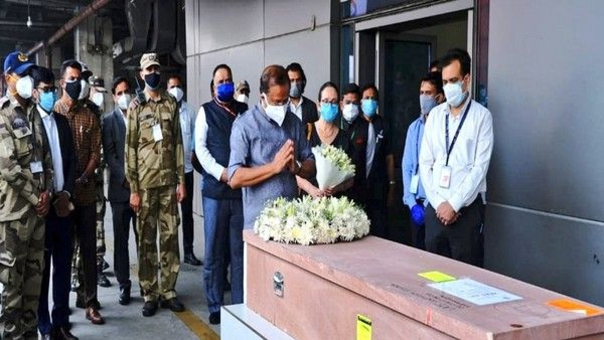 Mortal remains of Kerala woman killed in Israel arrive in India