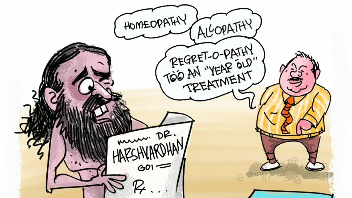 Ramdev withdraws statement on allopathy, hours after Harsh Vardhan asked him to backtrack