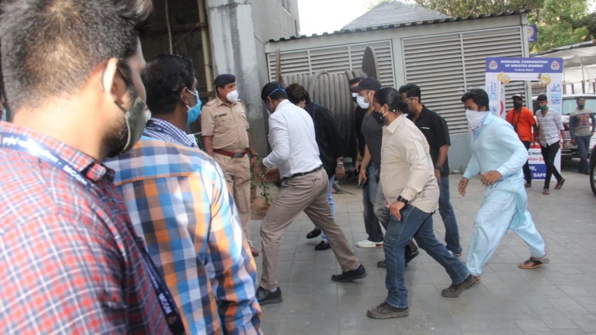 In Pics: Salman Khan receives second dose of COVID-19 vaccine