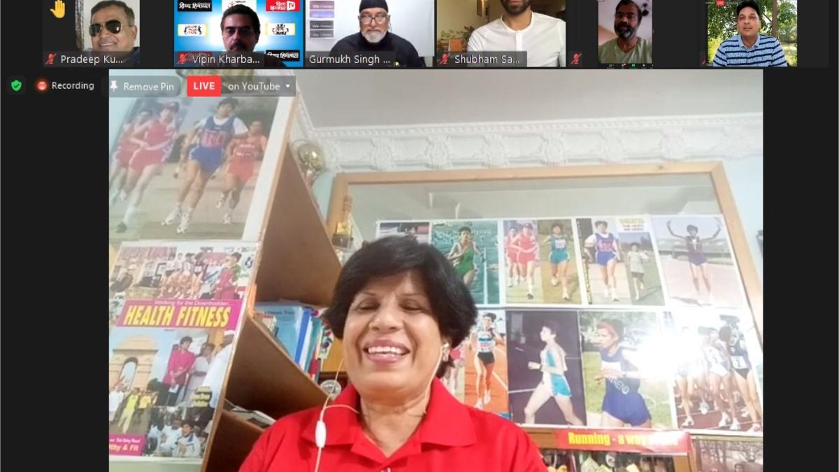 COVID-19: Balanced diet and regular exercise dominate at Dr Sunita Godara's webinar organised by PR Society in Delhi