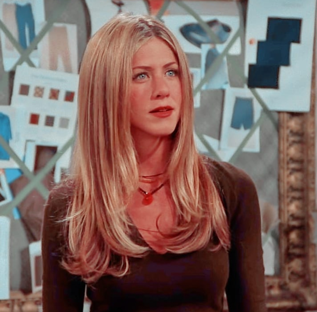 Rachel  played by Jennifer Aniston