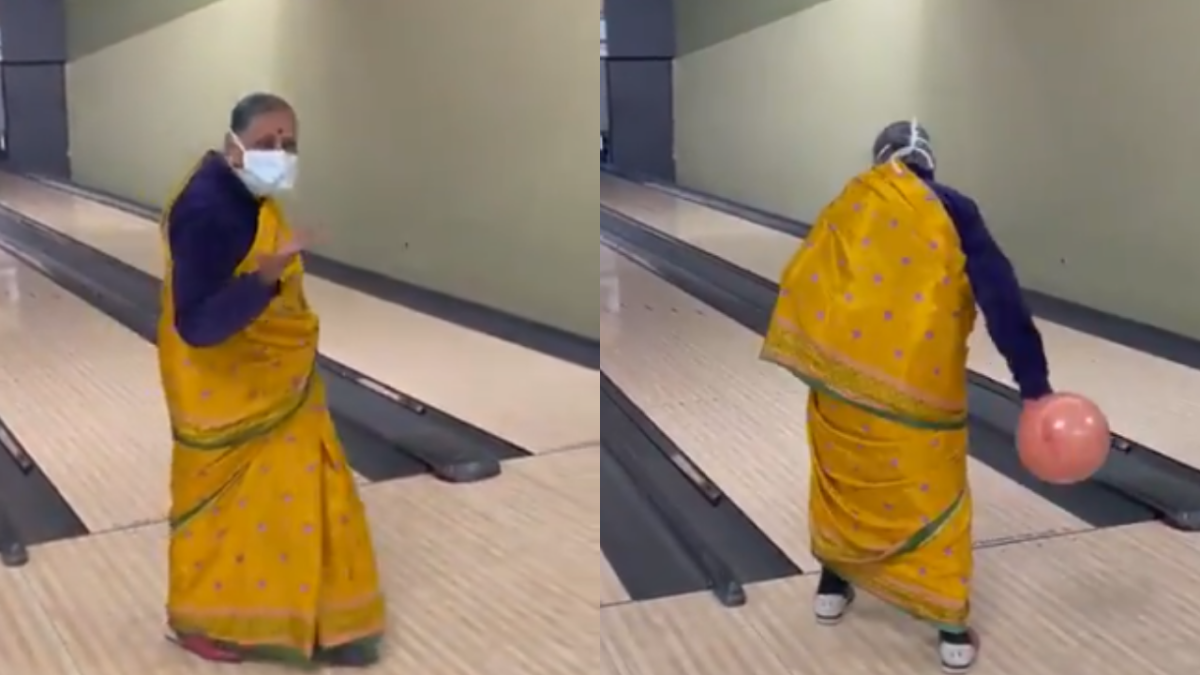 Watch Video: 'Boss lady' grandma bowls with swag, Twitter in love