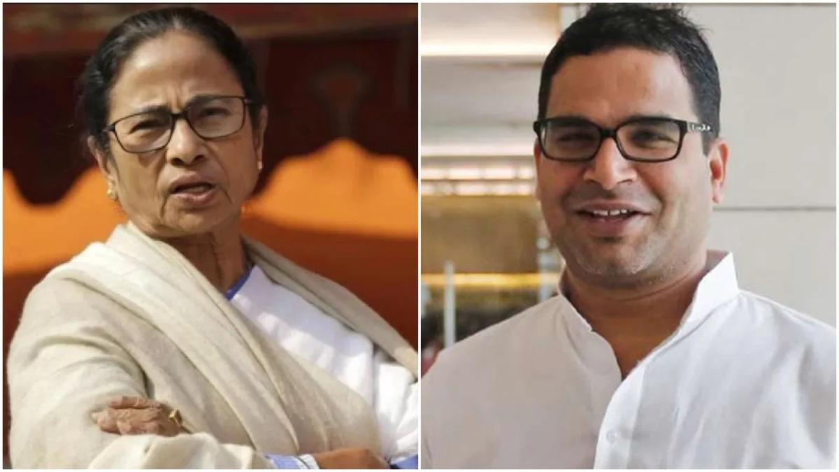 Mamata Banerjee (L), Prashant Kishor