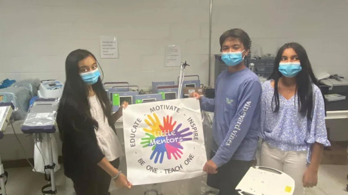 15-year-olds raise over $280,000 for medical supplies in India