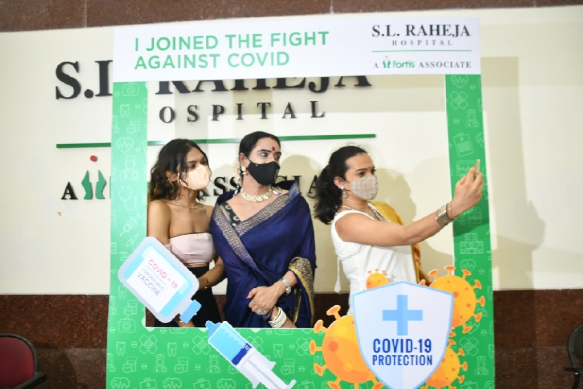 In pics: Mumbai hospital organizes city's first-ever COVID-19 vaccination drive for transgenders