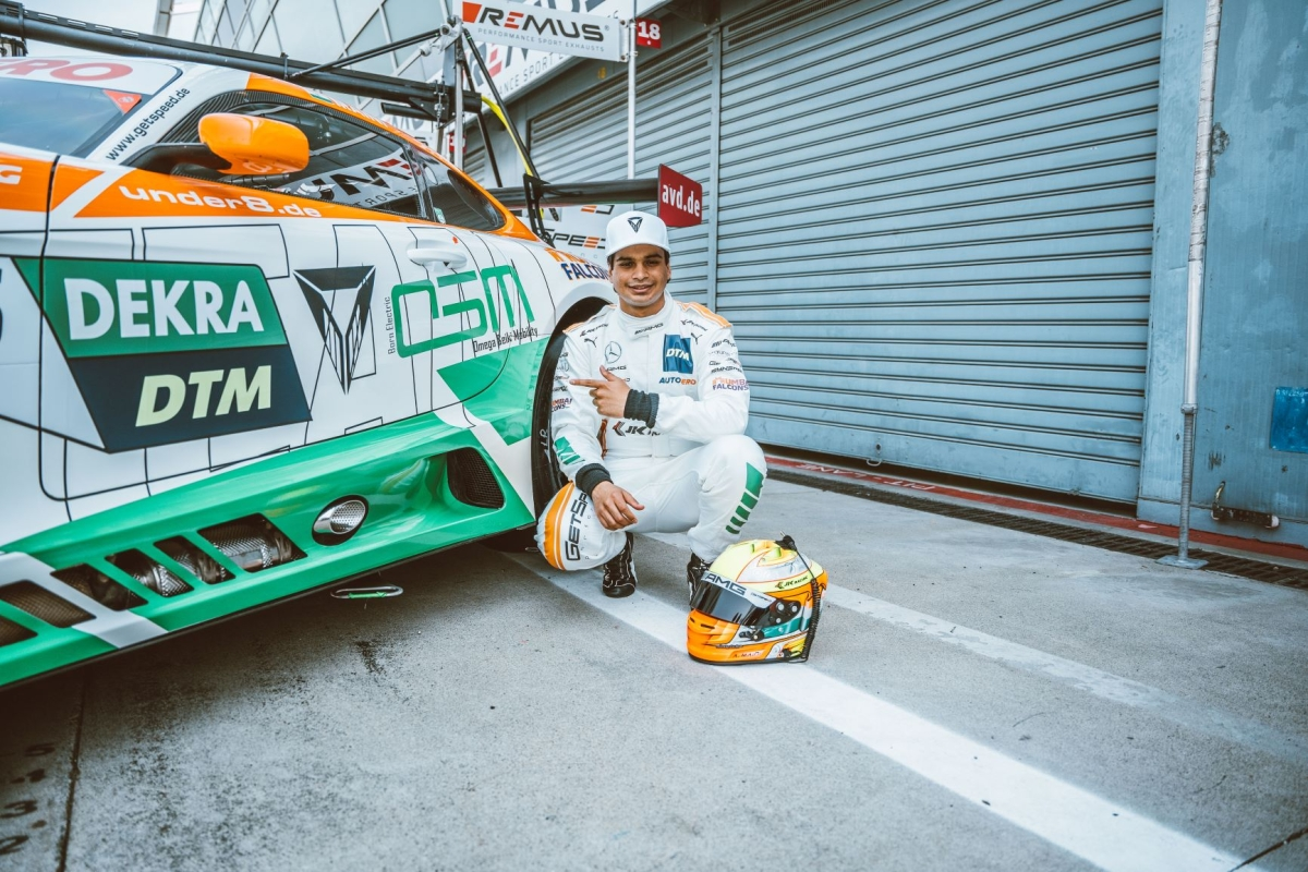 Omega Seiki Mobility inks partnership  with India's first DTM driver Arjun Maini