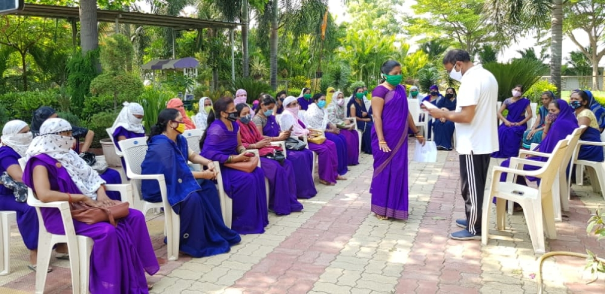 Madhya Pradesh: Asha, Usha and Sahyoginis demand increase in salaries