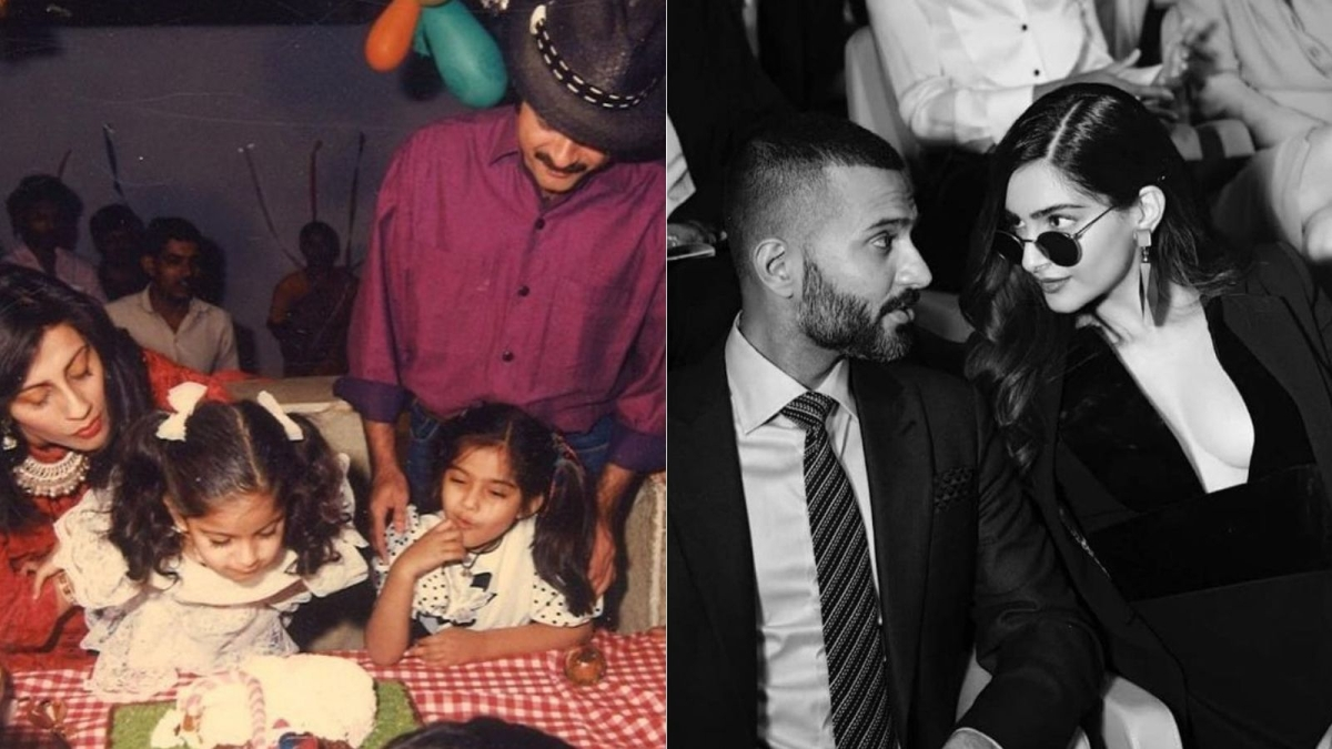 On Sonam Kapoor's birthday, dad Anil, husband Anand Ahuja, and others extend heartfelt wishes for the actress