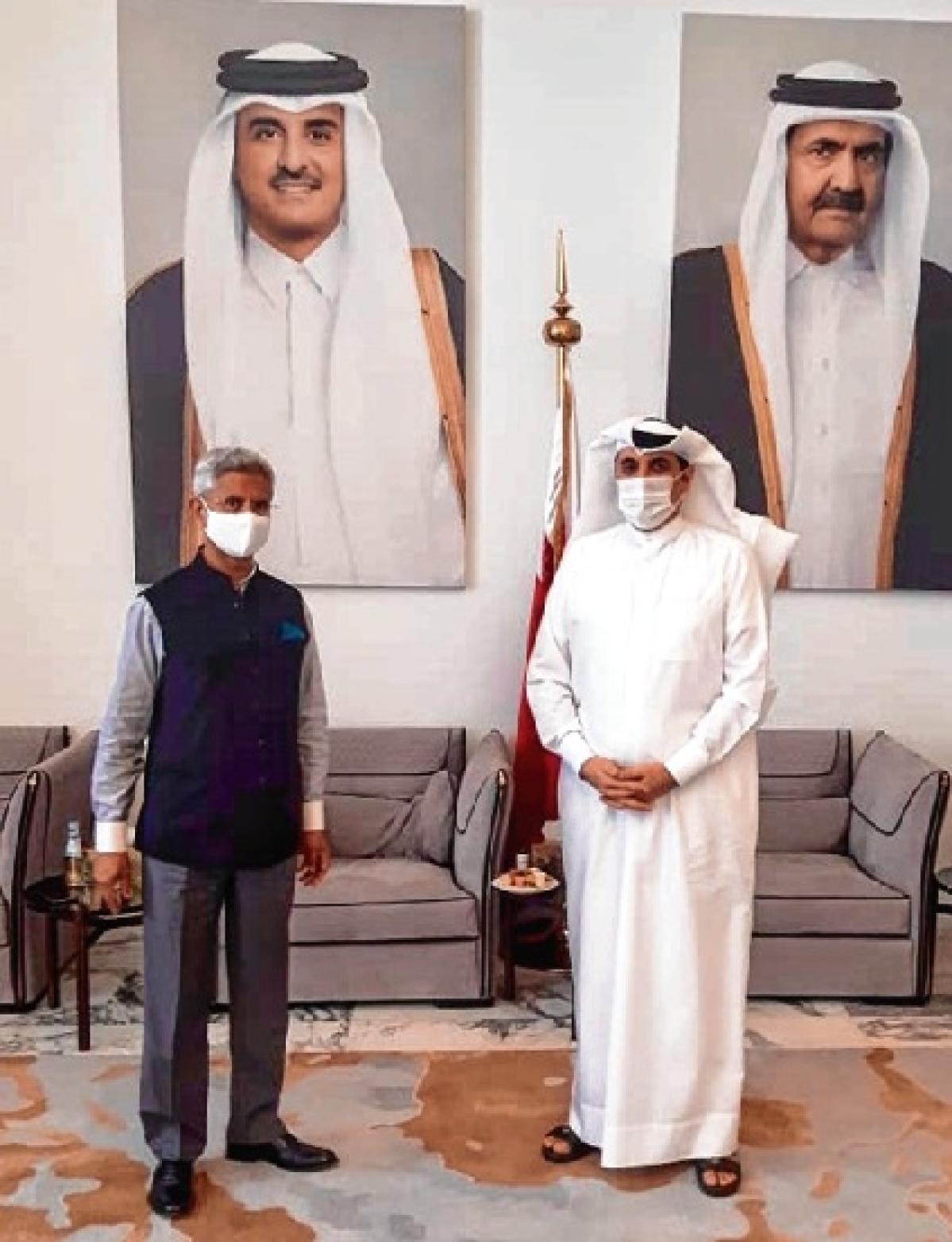 Jaishankar meets Qatari NSA, thanks him for virus fight aid