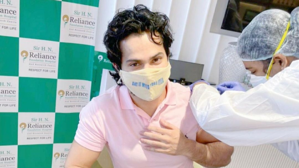 Varun Dhawan receives first dose of COVID-19 vaccine, says 'Don't be a prick, go get the prick'