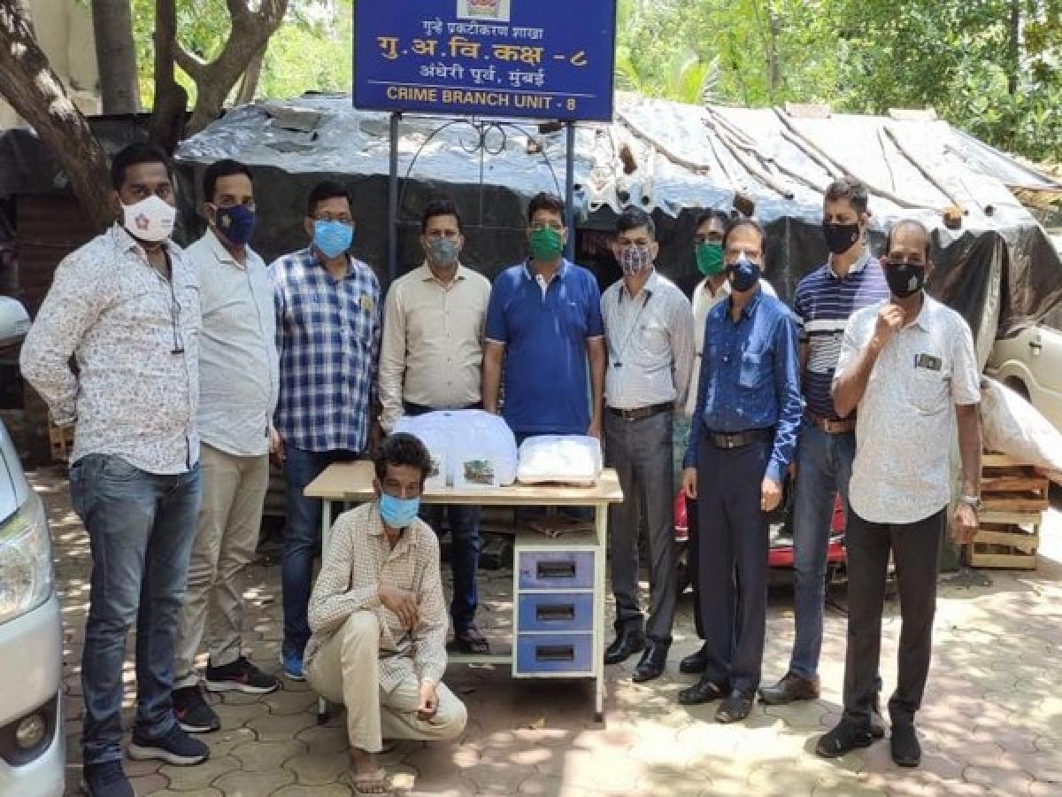 Mumbai: Man in possession of 10 kg Ganja worth Rs 3 lakh nabbed