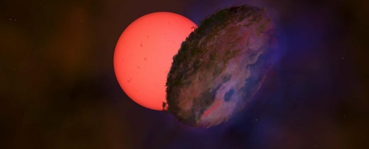 Astronomers spot a 'blinking' star near Milky Way