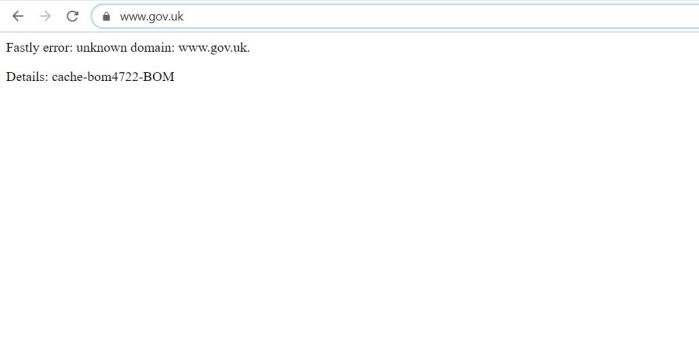 Global 'media blackout' as massive outage causes leading websites, social platforms to crash; UK govt site also hit