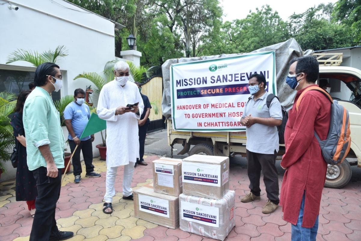 Chhattisgarh: Oxfam India to set up two oxygen plants under mission 'Sanjeevani'