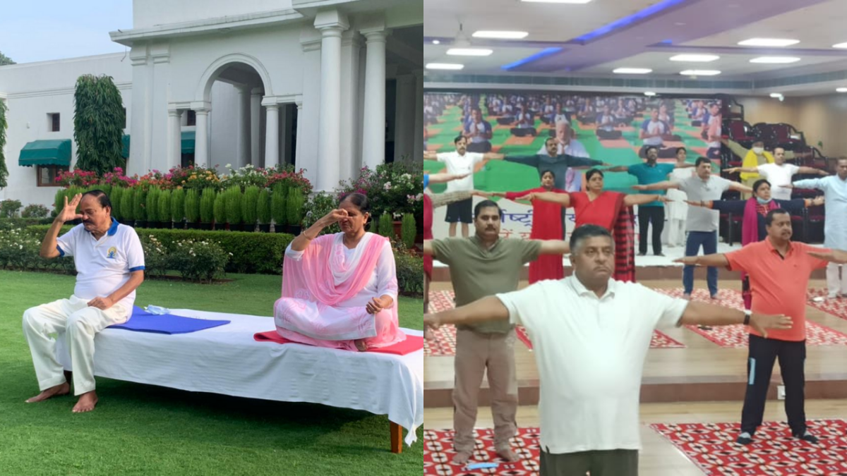 International Yoga Day 2021: President Kovind, VP Naidu and other political leaders celebrate by performing Yoga; share pictures and videos