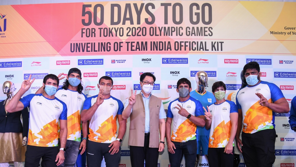 Twitter up in arms after Chinese sportswear brand Li-Ning sponsors India's official kits for Tokyo 2020 Olympic Games