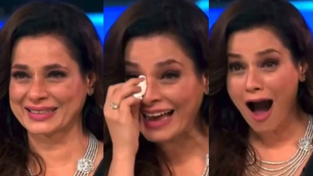 Watch: Neelam Kothari gets teary-eyed after getting a special message from husband Samir Soni on 'Super Dancer 4'