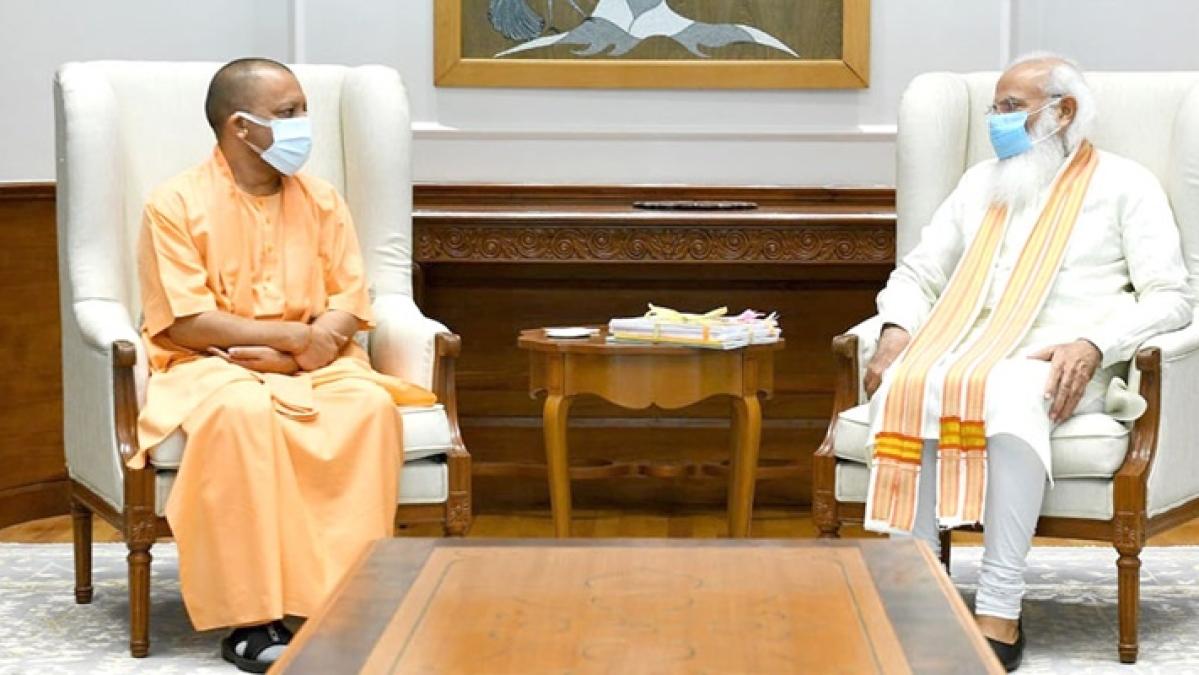Yogi Adityanath meets PM Modi in Delhi amid murmurs about in-party rift; watch video