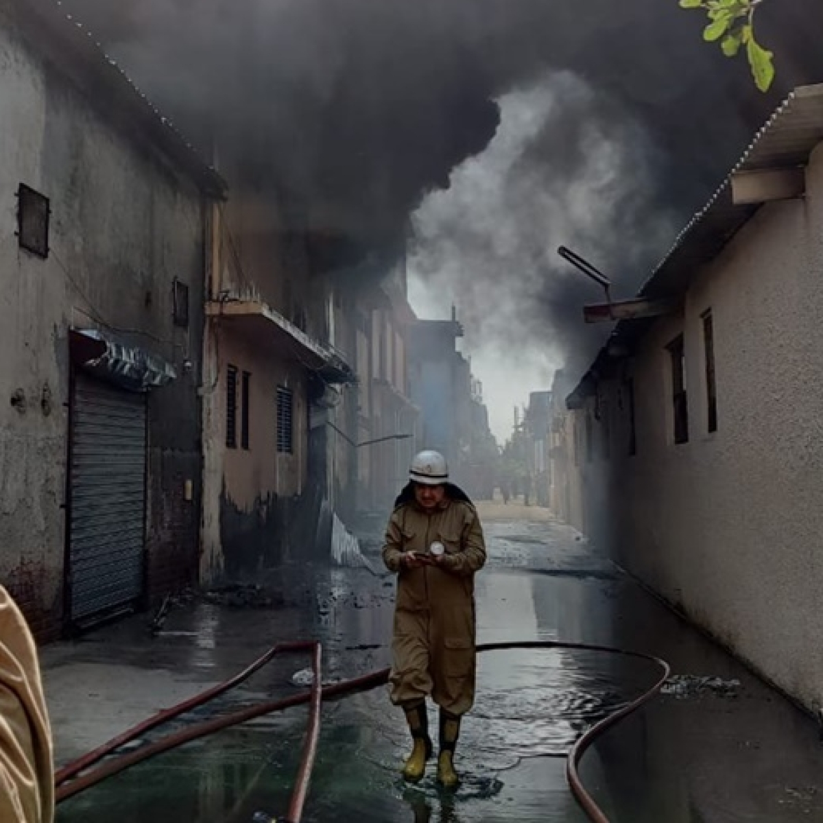 Atleast six people feared missing, 31 fire tenders rushed to spot after fire breaks out in Delhi's Udyog Nagar