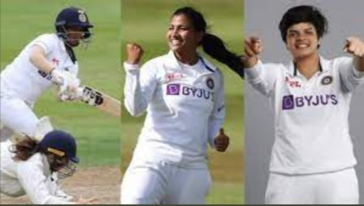 Women Cricket: India vs England; Sneh secures thrilling draw