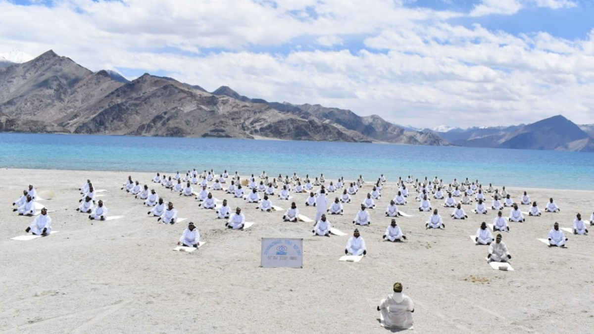 International Yoga Day 2021: ITBP, BSF, and other security personnel perform Yoga across Indian landscape; see pics and videos