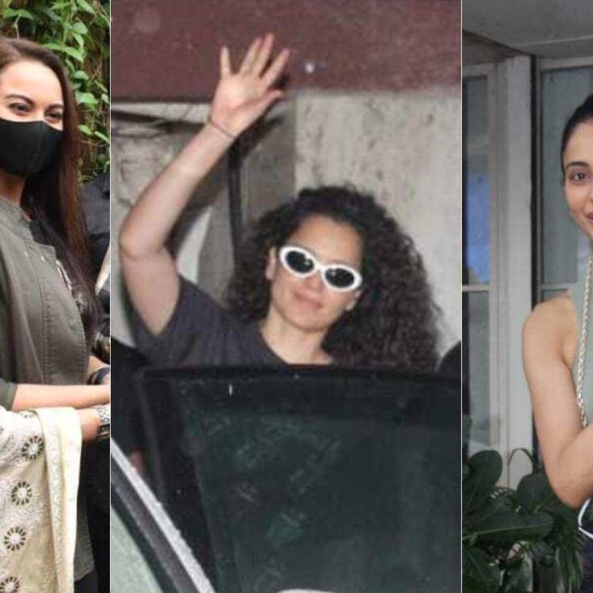 Paparazzi Files: Kangana Ranaut, Rakul Preet Singh, Sonakshi Sinha and other celebrities spotted in Mumbai