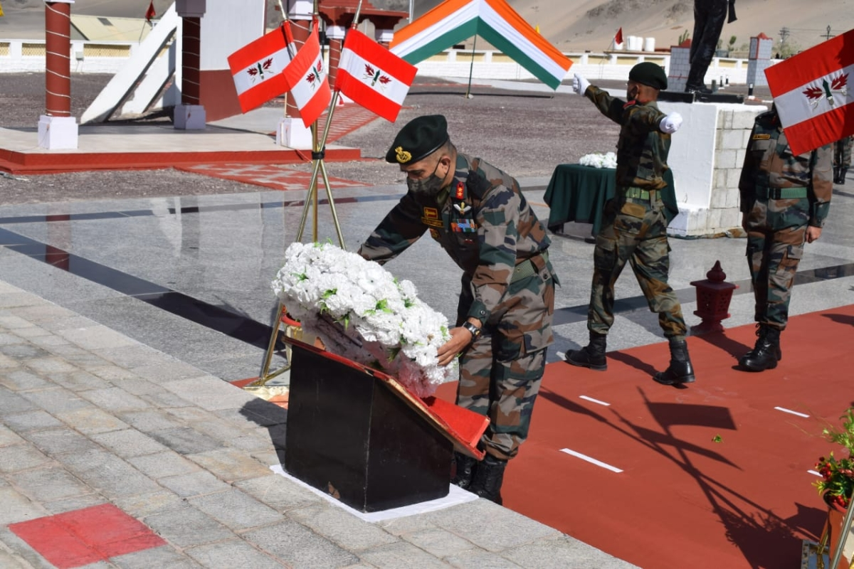 'Eternally etched in memory of nation': One year after deadly clash with China, Indian Army pays tribute to Galwan bravehearts