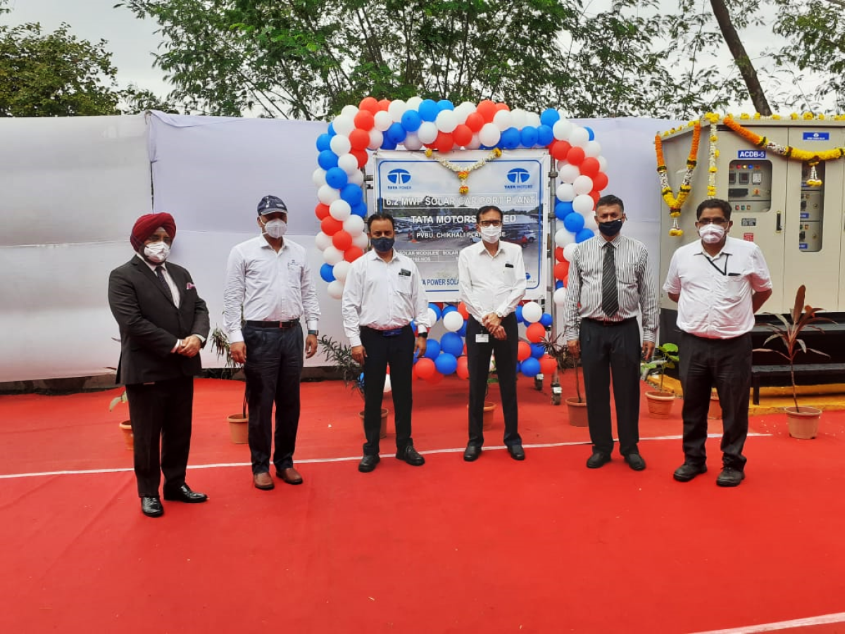 Tata Motors, Tata Power inaugurate India's largest solar carport in Pune; aims to reduce 7,000 tons of carbon emissions annually