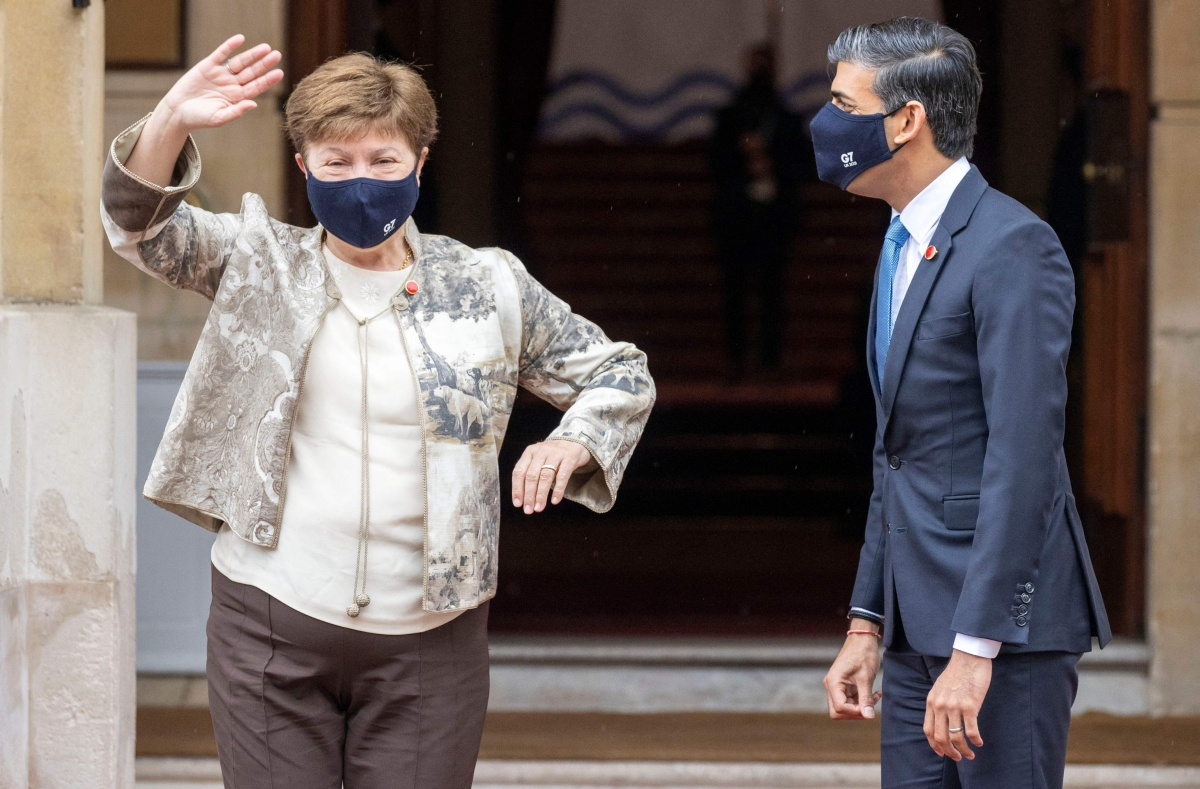 1 billion COVID-19 vaccine doses only a start: IMF MD Kristalina Georgieva at G7 summit