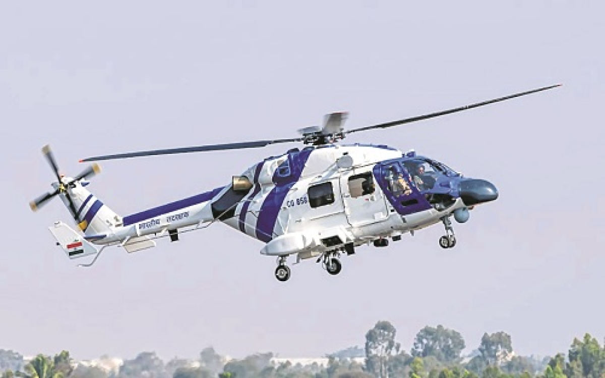 Coast Guard inducts 3 indigenously-built MK-III helicopters