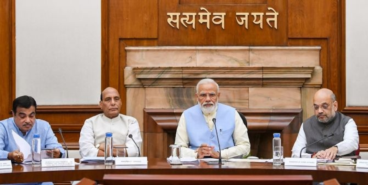 PM Modi holds meeting with Union ministers