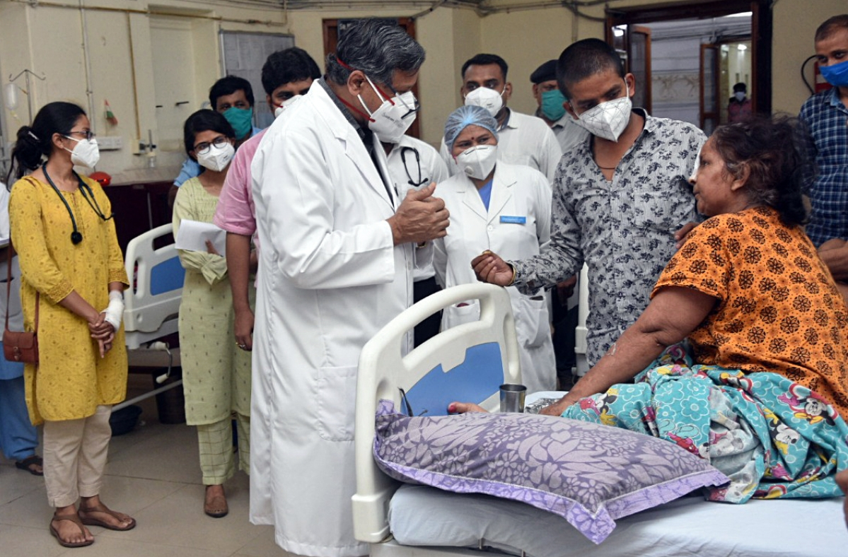 Black fungus cases in Maharashtra soar to 7,395
