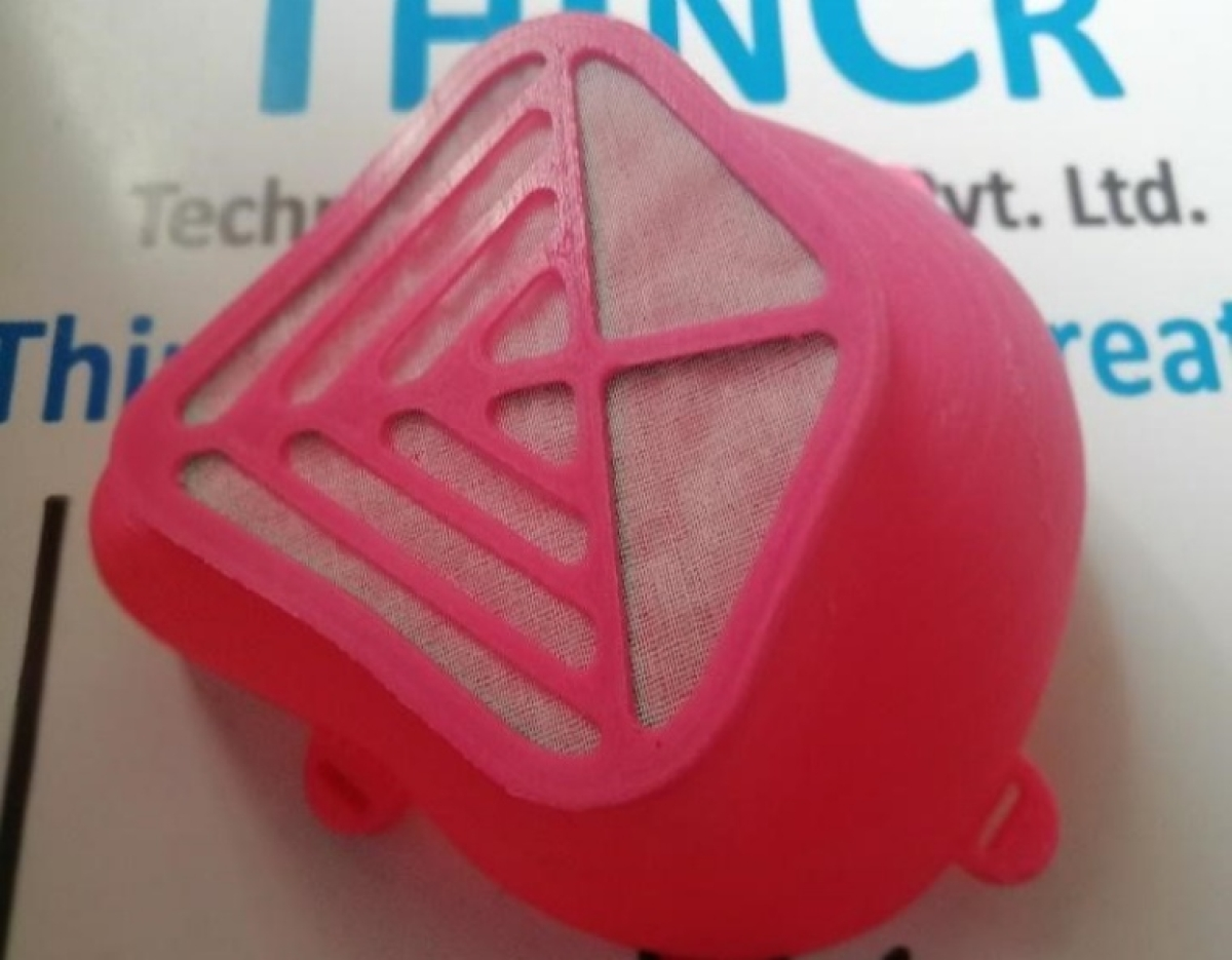 COVID-19: Pune-based firm produces 3D-printed masks coated with Anti-Viral Agents - Check here how it works