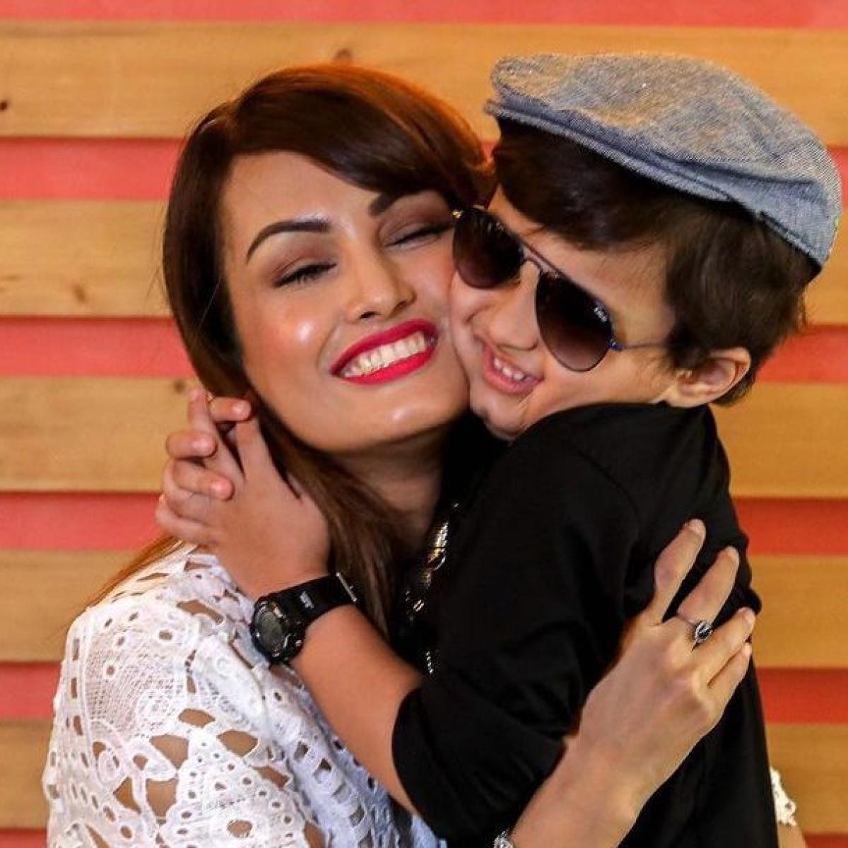 Nisha Rawal shares pictures of son Kavish's birthday party amid legal dispute with husband Karan Mehra