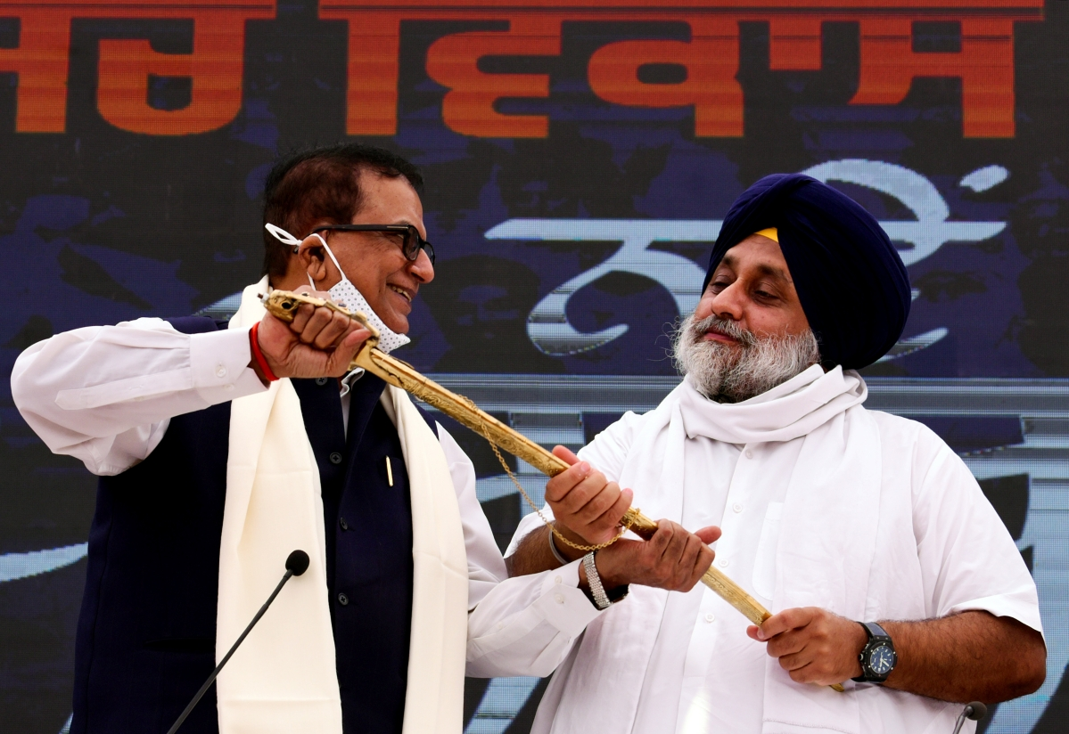 Akali Dal and BSP ink alliance ahead of Punjab Assembly elections in 2022