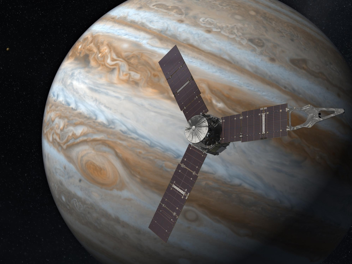 Spacecraft Juno to make closest flyby to Jupiter's largest moon, Ganymede