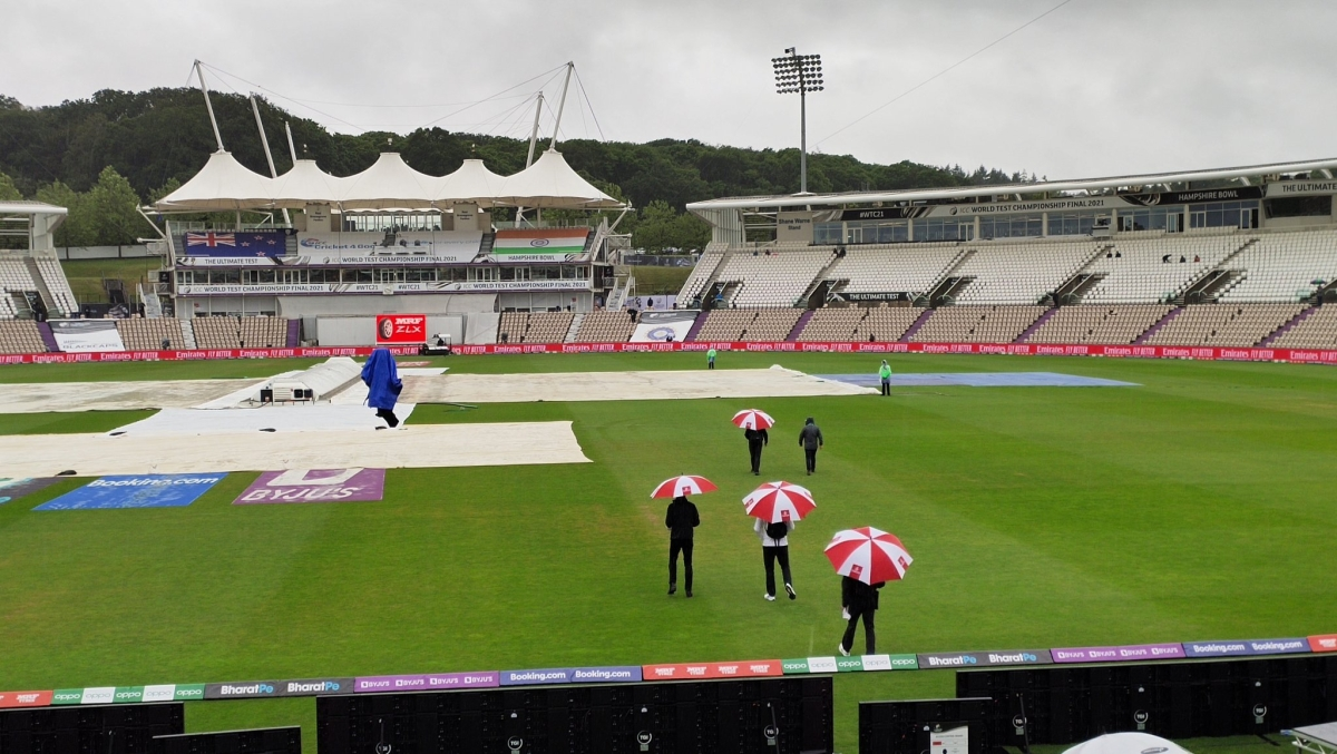 WTC Final Ind vs NZ: Play called off due to incessant rain on Day 1; 3 pm IST start on Saturday