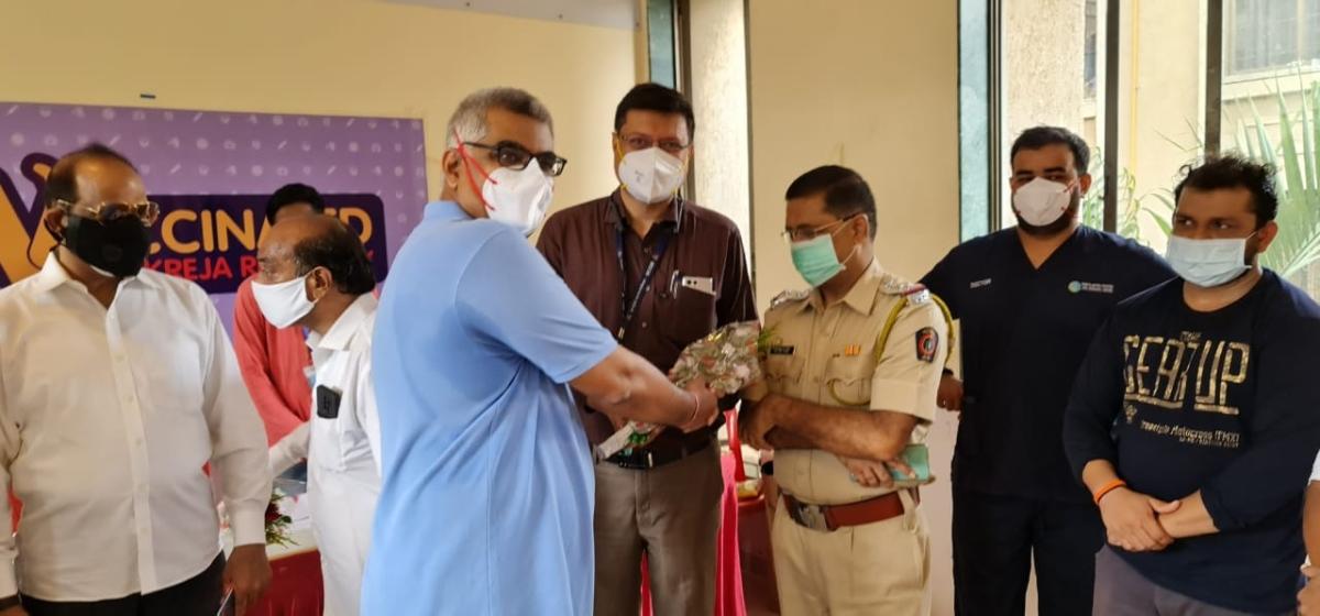 Covid Vaccination drive at Kukreja Residency Chembur