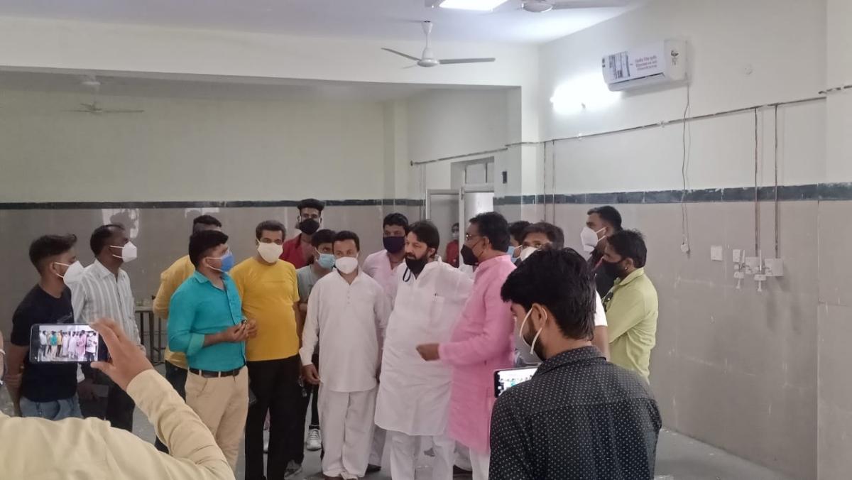 Madhya Pradesh: Work of 5 ventilator ICU beds inspected in Khachrod village of Ujjain district