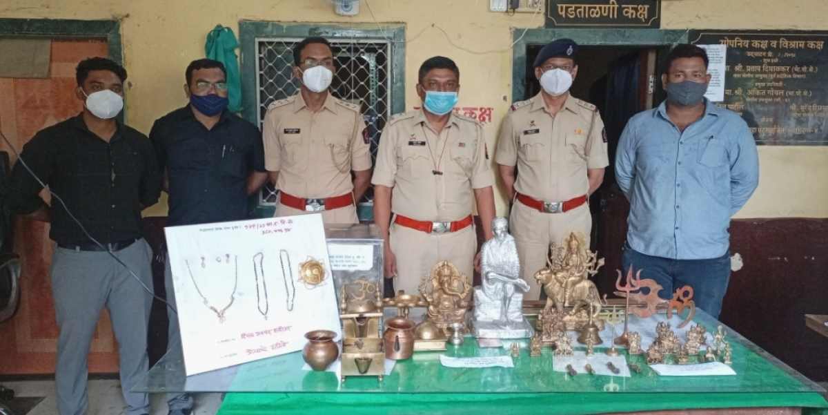 Thane: Scrap dealer arrested for purchasing stolen ornaments and idols from three minors