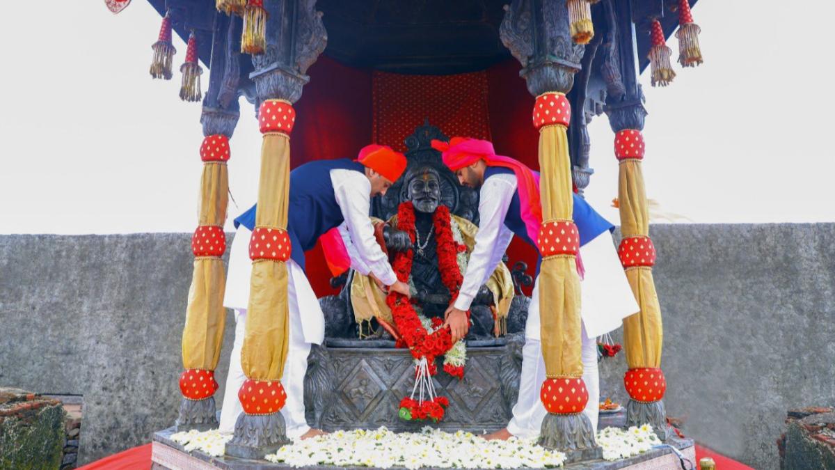 In Photos: Shiv Rajyabhishek Din celebrations in Maharashtra, the day Chhatrapati Shivaji Maharaj established Hindavi Swaraj
