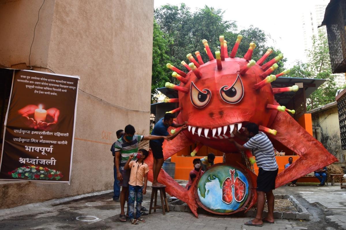 Mumbai: State sees 360 COVID-19 deaths