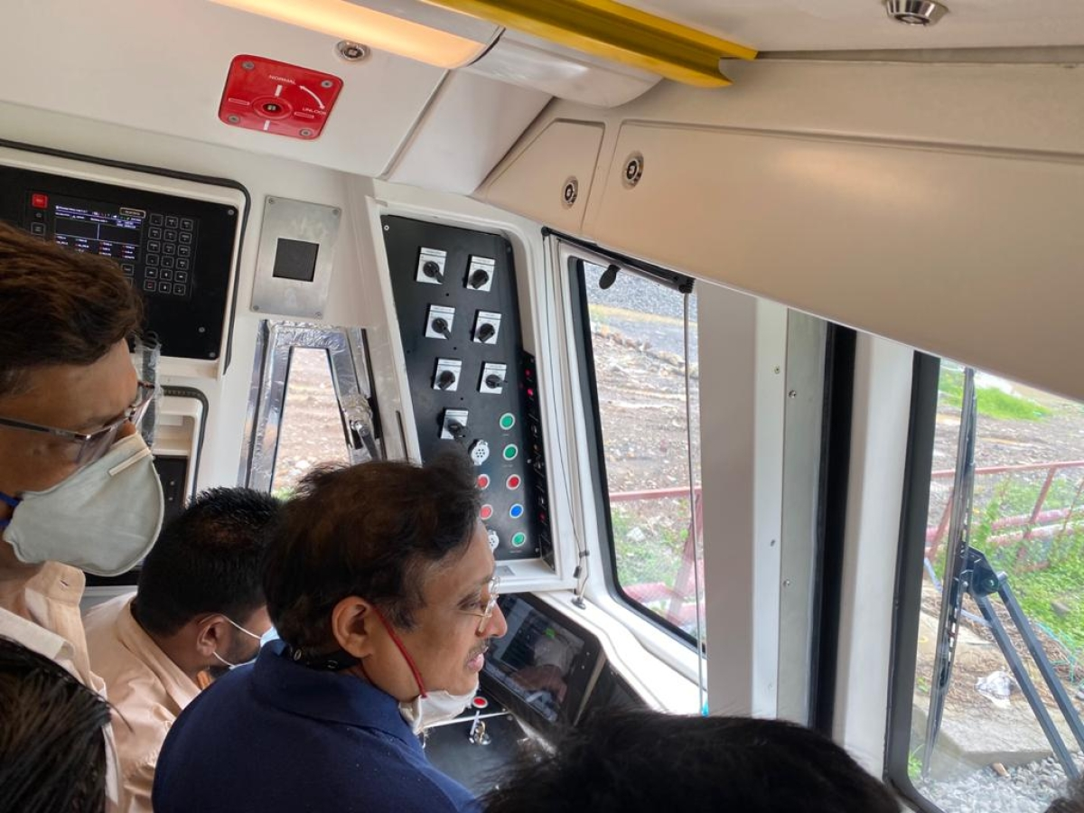 Mumbai: MMRDA begins Dynamic trial run on Phase 1 of Metro Line 2A&7