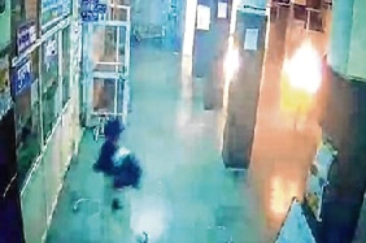 Hurt man almost burnt to death in Madhya Pradesh hospital