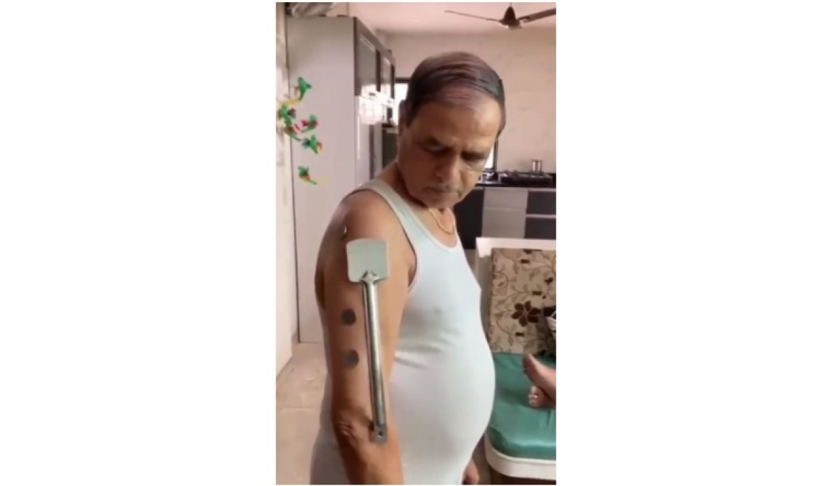 Real-life Magneto! Nashik man claims to have developed magnetism after taking Covishield; watch video