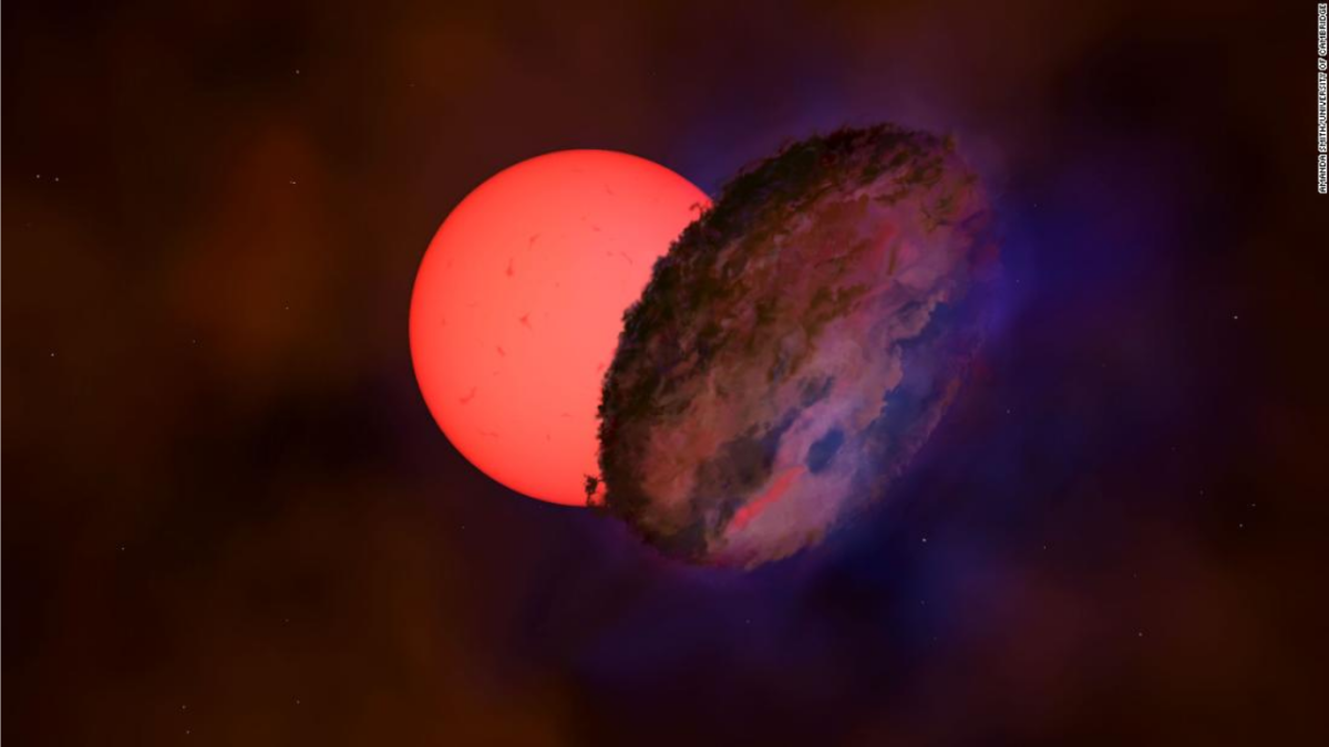 'Like a giant chocolate chip cookie': Twitter awed as astronomers spot giant 'blinking' star in Milky Way