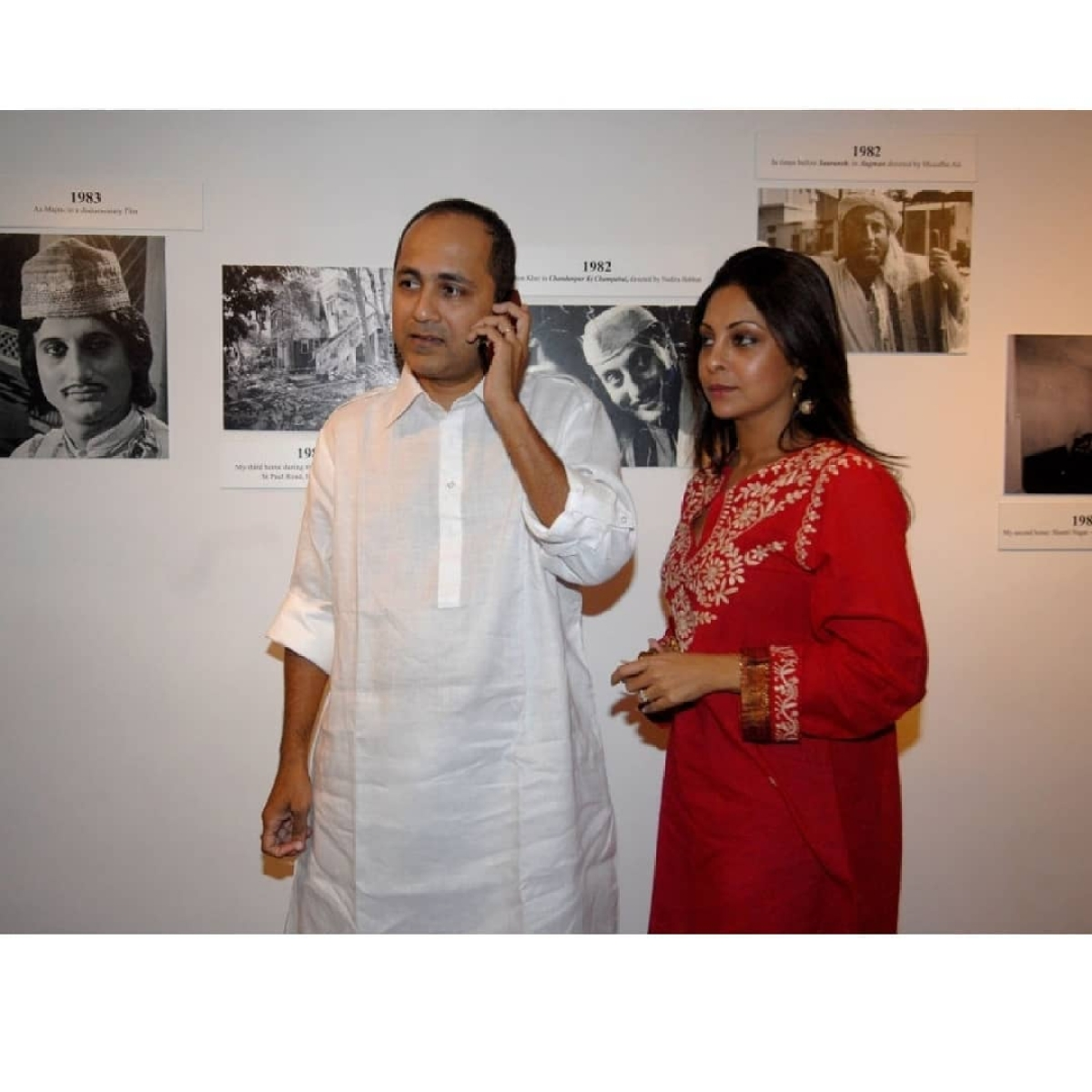 Shefali Shah wishes husband Vipul Shah on birthday; shares unseen picture from her wedding with producer