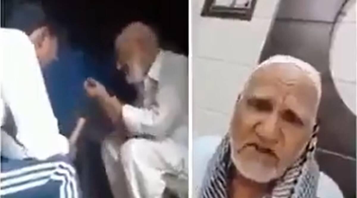 Uttar Pradesh: Elderly Muslim man brutally assaulted in Ghaziabad; watch video
