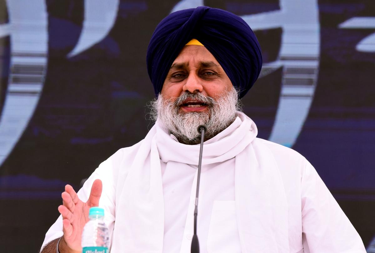 Captain Amarinder Singh is the most hated man in Punjab: SAD President Sukhbir Singh Badal
