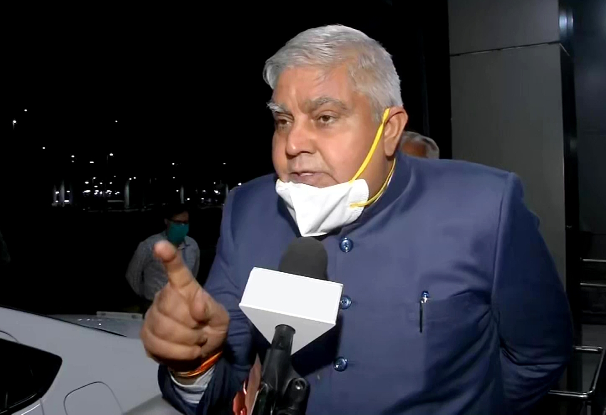 West Bengal Governor Jagdeep Dhankhar should visit a psychiatrist: TMC Minister Firhad Hakim